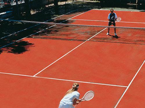 Hotel in Tropea campo da tennis