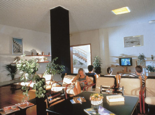 Hotel La Pineta sala lettura