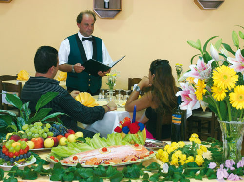 Hotel in Tropea La Pineta ristorante